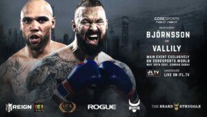Thor Bjornsson & Simon Vallily Clash This Friday In Dubai | Boxen247.com