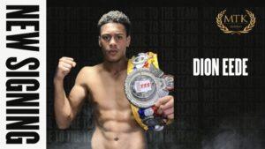 Amateur Star Dion Eede Joins MTK Global | Boxen247.com