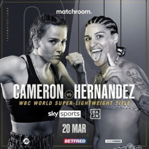 Chantelle Cameron Makes Her First Title Defence This Saturday | Boxen247.com