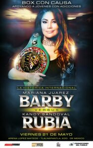 Mariana Juárez Clashes with Kandy Sandoval Later this Month | Boxen247.com