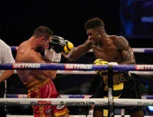 Lerrone Richards Defeats Giovanni De Carolis in England | Boxen247.com