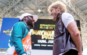 Mayweather vs. Logan Paul Made Official at Press Conference | Boxen247.com