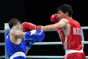 Azat Usenaliev Once Again A Medalist At The Asian Boxing Championships | Boxen247.com