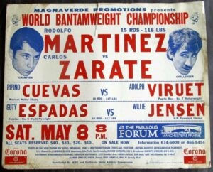 On this Day: Carlos Zarate Won his First Title 45 Years Ago