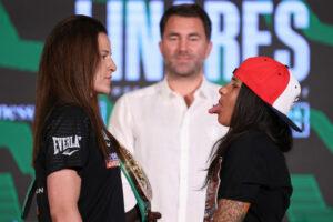 Chantelle Cameron vs. Melissa Hernandez Final Press Conference | Boxen247.com
