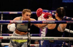 Ellis Hopkins Wins Pro Debut Against Borislava Goranova | Boxen247.com