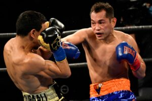 Nonito Donaire Defeats Nordine Oubaali in California For World Title | Boxen247.com