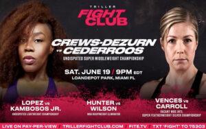 Franchon Crews-Dezurn Faces Elin Cederroos in Miami June 19 | Boxen247.com