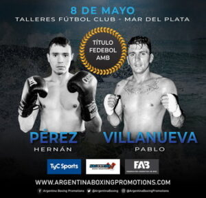 Perez Defeats Villanueva & Fight Card Results From Argentina | NobleBoxing.com