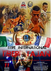 Loic Tajan vs. Davide Tiberi - New IBA Title Confirmed in France | Boxen247.com