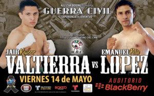 Telemundo Returns To Mexico With Valtierra vs. Lopez Bout   Boxen247.com