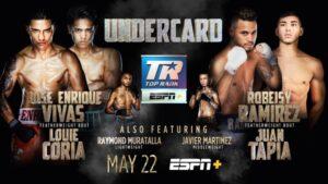Attractive Undercard For Ramírez vs. Taylor Clash May 22   Boxen247.com