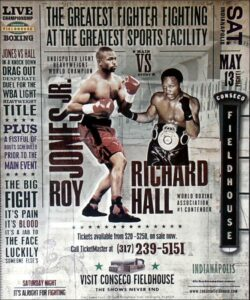 On This Day: Roy Jones Jr Defended Title Against Richard Hall | Boxen247.com