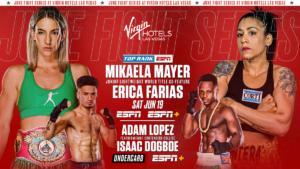 Mayer vs. Farias Added To Inoue vs. Dasmarinas Card On June 19 | Boxen247.com