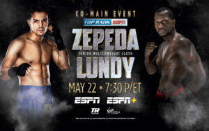 José Zepeda Clashes with Hank Lundy in Las Vegas May 22 | Boxen247.com