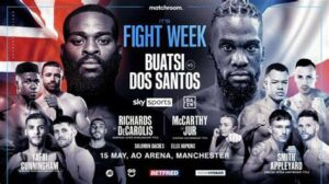 Joshua Buatsi vs. Daniel Blenda Dos Santos Fight Card Weights | Boxen247.com