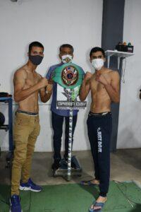 Javier Torres & Germán Valenzuela Both Make Weight   Boxen247.com
