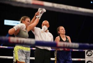 Ellis Hopkins Makes History With Debut Win | Boxen247.com