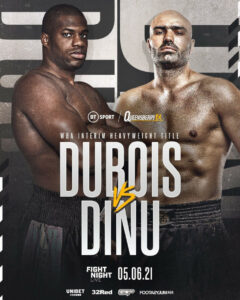 "Daniel Dubois vs. Bogdan Dinu & ""Back Stronger"" June 5 | Boxen247.com"