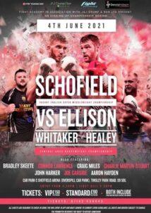 Charlie Schofield vs. Mickey Ellison Headline at Sheffield Arena Friday |  Boxen247.com
