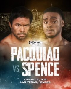 Manny Pacquiao Clashes With Errol Spence Jr. in Las Vegas August 21   Boxen247.com