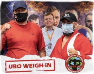 Serdar Avci & Kvezereli Weights From Ukraine (UBO Title) | Boxen247.com
