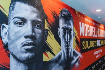 Morrell Jr. vs. Cázaresfinal press conference quotes & huge picture gallery | Boxen247.com (Kristian von Sponneck)