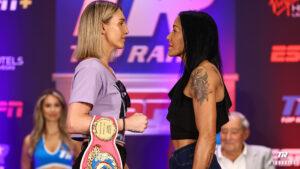 Mikaela Mayer vs. Erica Farias quotes - Bout tomorrow (Saturday 19)   Boxen247.com