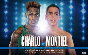 Charlo vs. Montiel June 19 winner to receive the WBC Freedom Belt   Boxen247.com