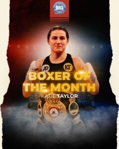 Katie Taylor Awarded WBA Female Boxer of The Month in May | Boxen247.com