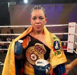 Eva Guzman Defeats Isabel Millán For WBA Interim Belt | Boxen247.com
