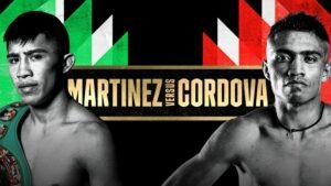 Martinez vs. Cordova on June 26 starts the Mexico DAZN fight series | Boxen247.com