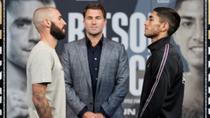 Lewis Ritson faces off with Jeremias Ponce at final press conference | Boxen247.com