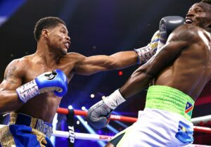 Shakur Stevenson defeats Jeremiah Nakathila in Las Vegas, USA | Boxen247.com