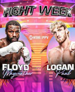 Floyd Mayweather Jr Returns This Weekend Against Logan Paul   Boxen247.com