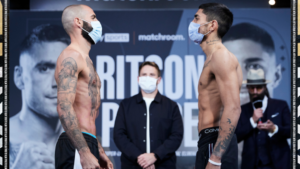 Lewis Ritson & Jeremias Ponce weigh-in ahead of tomorrow | Boxen247.com