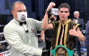 David 'General' Cuéllar defeats Karim 'Traviesito' Arce in Sinaloa, Mexico   Boxen247.com
