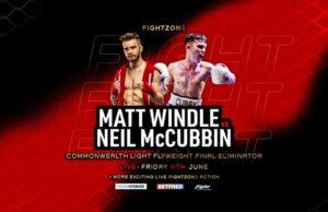 Matt WindledefeatsNeil McCubbin & main bout results from Sheffield | Boxen247.com