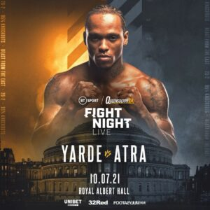 Anthony Yarde hopes Cook will provide recipe for future success | Boxen247.com