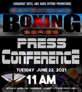 Hard Hitting Promotions Press Conference in Atlantic City | Boxen247.com