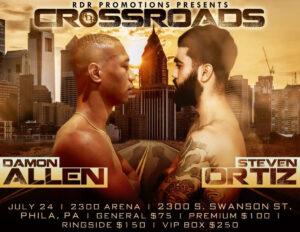 Steven Ortiz vs. Damon Allen Jr headline at the 2300 Arena Saturday | Boxen247.com
