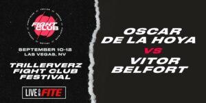 Oscar De La Hoya opponent named - Oscar is the underdog!   Boxen247.com