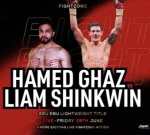 Hamed Ghaz defeats Liam Shinkwin and full results from Sheffield, UK | Boxen247.com (Kristian von Sponneck)