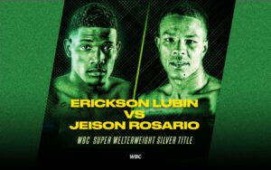 Lubin and Rosario poised for WBC eliminatory this Saturday | Boxen247.com