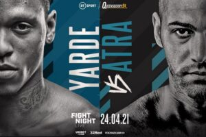 Yarde is happy that enemy 'King' Arthur is WBO number one   Boxen247.com