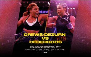 Franchon Crews-Dezurn vs. Elin Cederroos on August 14   Boxen247.com