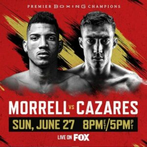 David Morrell Jr faces Mario Cazares in Minnesota, USA this Sunday | Boxen247.com (Kristian von Sponneck)