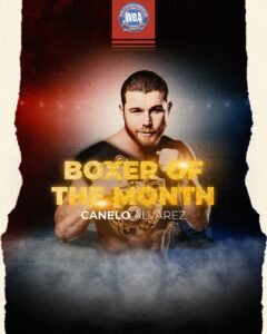Canelo is WBA Fighter of The Month | Boxen247.com