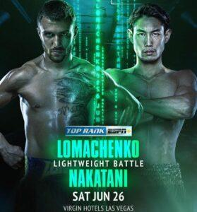 Vasyl Lomachenko returns against Masayoshi Nakatani this Saturday   Boxen247.com (Kristian von Sponneck)