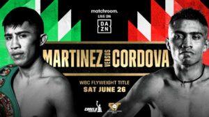 Julio César Martínez face Joel Cordova in Mexico this Saturday | Boxen247.com (Kristian von Sponneck)
